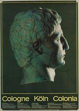 Affiche COLOGNE Empereur Auguste - Musée Romain-Germanique