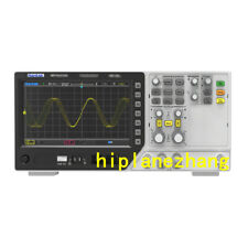 2CH 200MHz Oscilloscope 64MDepth 2CH Signal Waveform Generator 2in1 Touch Screen