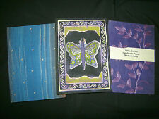 Vintage Handcrafted Paper Decorative Journal Notebooks, made in India, LOT of 3