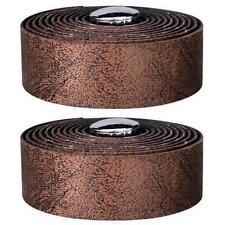 Velox Guidoline Softgrip Vintage Classic Leather Look Drop Handlebar Tape Brown
