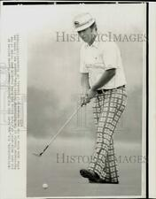 1973 Press Photo Golfer Homero Blancas during Westchester Classic in New York
