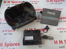 FORD FIESTA MK6 ECU KIT 1.4 MANUAL 4ROS 2S6A-12A650-SE 2002 - 2005 ABS MODEL
