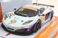 """SCALEXTRIC C3716 MCLAREN 12C GT3 """"GULF"""" MACAU GT CUP 2014 NEW 1/32 SLOT CAR DPR"""