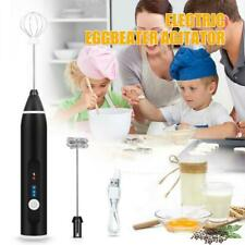 Electric Milk Frother Drink Foamer Whisk Mixer Stirrer Coffee Egg Beater Kitchen