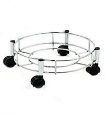Stainless Steel Kitchen Cylinder Trolley High Durability Wheels Easily Movable