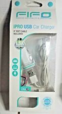 Fifo IPRO USB Car Charger 3ft cable included