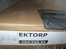 IKEA Ektorp Bezug für 2-er Sofa Hallarp grau NEU 204.723.53