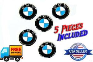 5 pieces BMW Key Fob Remote Badge Logo 11mm Emblem OEM replacement Genuine