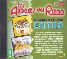 Los Audaces Del Ritmo 2 Discos En Uno Exios Vol 4 CD New Nuevo Sealed