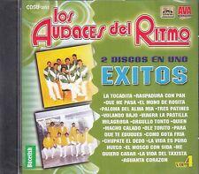 Los Audaces Del Ritmo 2 Discos En Uno Exios Vol 4 CD New Nuevo Sealed