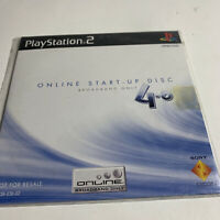 Online Start-Up Disc v 4.0 - Sony PS2 PlayStation 2 - Brand NEW Sealed Rare HTF