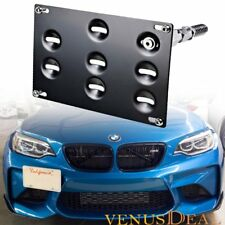 Front Bumper Tow Hook License Plate Mount Bracket for Bmw 3/4/5 Series Mini R60