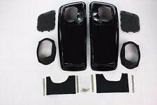 6x9 Vivid Black Speaker Lids for 2014 2015 Harley Touring Models FLH FLT