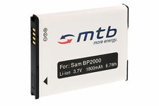 Batterie BP2000 pour Samsung Galaxy Camera 2 (EK-GC200)