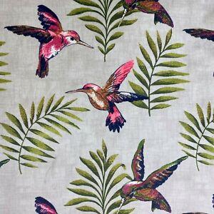 ILIV/SMD Montserrat Pattern Velvet Curtain Fabric Material 138cm wide
