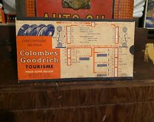 BF Goodrich Tire Rare Euro Cardstock Calculator - Tyre Pneu Rubber Sign Tin Gas