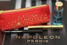 Napoleon Perdis Long Black Mascara/Eyeliner/Bag/Makeup Remover 4 items $92 Value