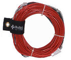 BULLET LINES 75' COATED SPECTRA WAKEBOARD WATER SKI ROPE MAINLINE NON STRETCH R