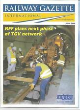 Railway Gazette International magazine- June 2000 DH