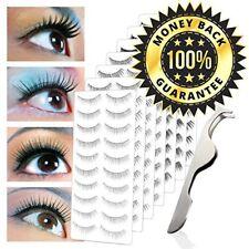 New 70 Pairs of False Eyelashes with 7 Different Styles +free eyelash applicator