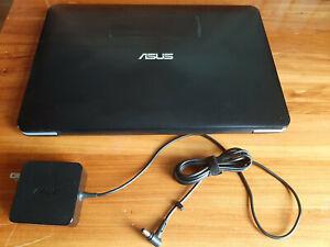 "ASUS X555d Laptop, Black, 15.6"" screen - Used"