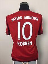 ROBBEN #10 Bayern Munich Home Football Shirt Jersey 2015/16 (L)