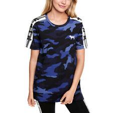 New PINK VICTORIA'S SECRET Women's Navy Camo T Shirt Tee Size XS