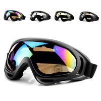 Dustproof Sunglasses Motorcycle Ski Snowboard Glasses Eye Goggles Glasses New