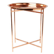 Folding Round Modern Side & End Tables