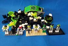 VINTAGE Lego space minifigures + Pieces futuron blacktron astronauts Police