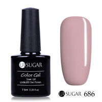 7.5ml UR SUGAR Soak Off UV Gel Nail Polish Nail Art Gel Varnish  Pink 686