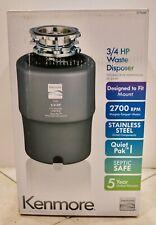 Kenmore 3/4-HP Garbage Waste Disposer  model 70351