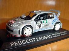 PEUGEOT 206 WRC TOUR DE CORSE 2000 1:43 G.PANIZZI #10