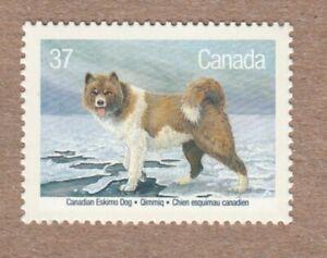 Canadian INUIT ESKIMO DOG = KENNEL CLUB = Canada 1988 # 1219 MNH