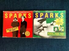 SPARKS  - X2 CD Singles - My Way & When i Kiss You 1995
