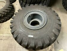 295 25 28ply E3l3 Loader Tire On 24 Hole Wheel For Terex Rt600 Rt700
