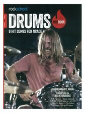 Rockschool Drums Hot Rock Grade 4 Music Book With Audio Access Exams Tests