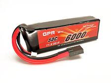 11.1V 6000mAh 50C 3S LiPo Battery Pack Traxxas Stampede & Slash 4x4 Rustler VXL