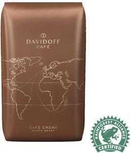 Davidoff coffee beans Café Crème  100% Arabica beans 10x500g- TRACKED SERVICE -