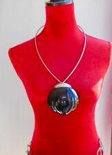 LANVIN, TRÈS GRAND et RARE Collier VINTAGE ,LANVIN PARIS STYLE ART DÉCO jewelry
