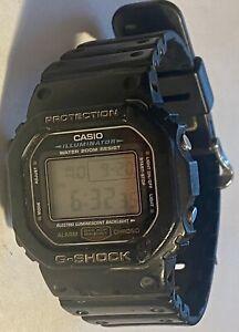 Casio G Shock alarm chrono mens watch 1545 DW-5600