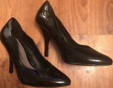 ladies black patent shoes size 5 From Dorothy Perkins Vgc