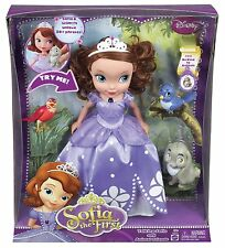 Sofia the First Talking Sofia and Animal Friends with 30 Phrases - Y6655 - New