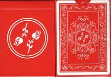 Red Roses Playing Cards Poker Size Deck USPCC Custom Limited Edition New Sealed