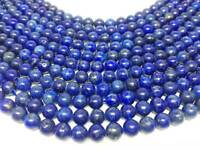 "Natural 6mm Lapis Lazuli Beads 15 1/2"" Strand Round Loose ~ BR625"