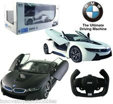 LICENSED BMW i8 RADIO REMOTE CONTROL CAR TOY OPEN DOORS BY RC 1:14 SCALE