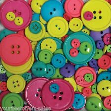 Assorted Buttons Lot Bag Of Buttons Sewing Buttons Round Buttons Crafts Buttons