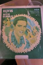 ELVIS - RARE BLUE HAWAII RCA SELECTAVISION VIDEO DISC - USA LOOK!