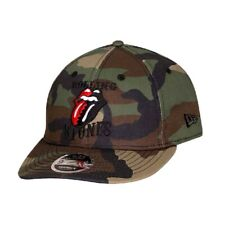 OFFICIAL NEW ERA ROLLING STONE Logo CAMO LOW PROFILE 9FIFTY Snapback Cap