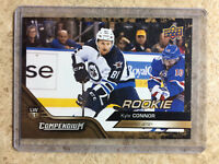 16-17 UD Upper Deck Compendium Series 3 #831 KYLE CONNOR RC Rookie Gold